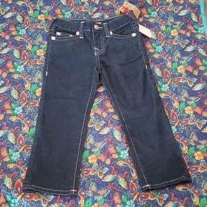Boys Slim Fit Corduroy Jeans